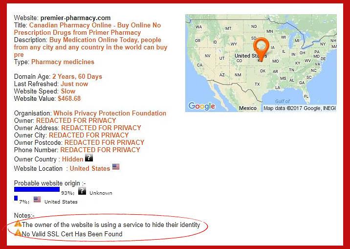 Premier-pharmacy com Reviews  Unsafe Platform - PharmReviews net