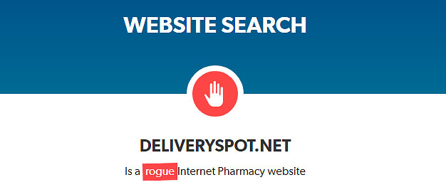 Deliveryspot net Reviews  Low Trust Rating - PharmReviews net