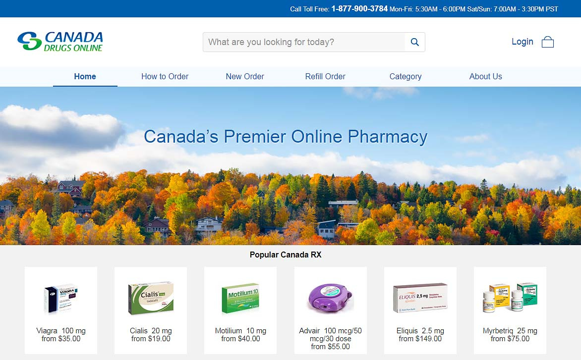 canada drugs online review