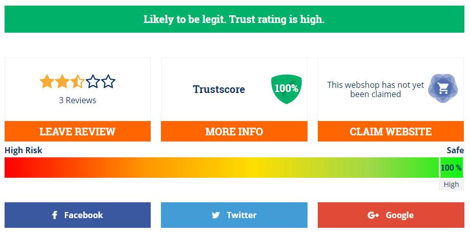 high-trust level