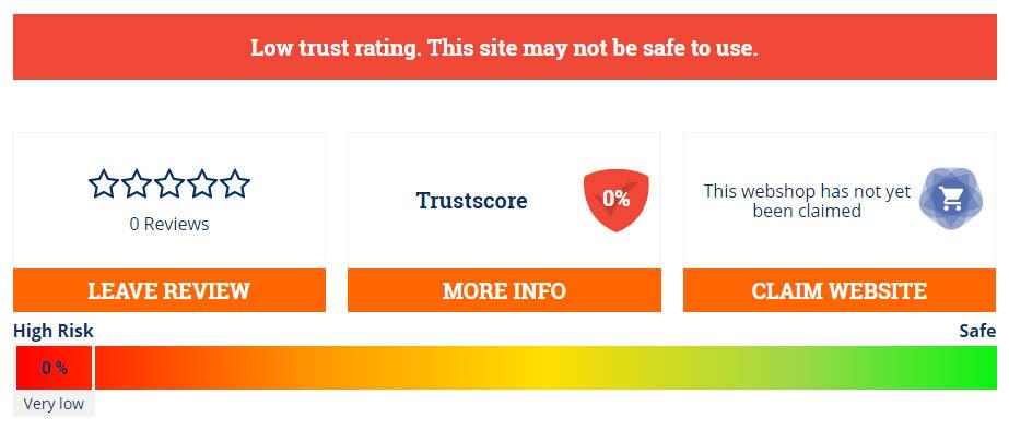 0% trust