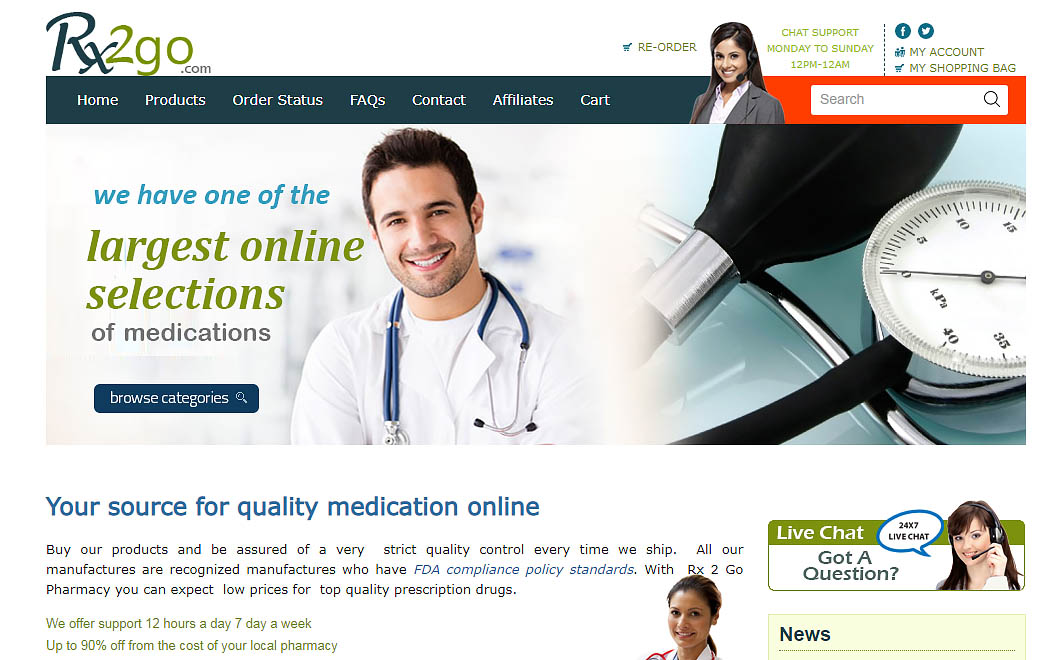 pharmacy interface