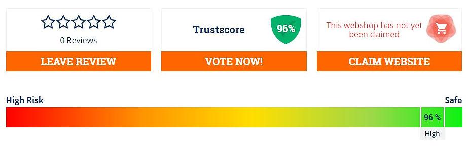 a high trust score