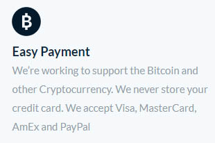 lots of payment options