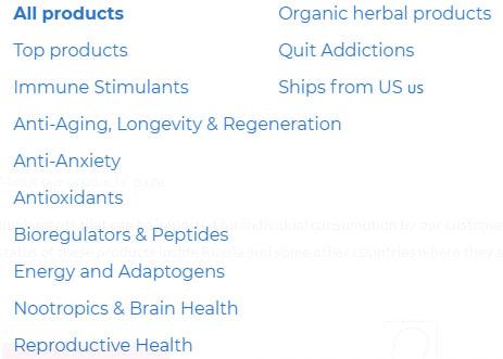 categories of drugs
