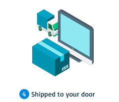 shipping to your door