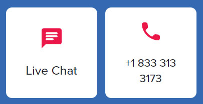 live chat and phone number