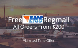 free ems shipping