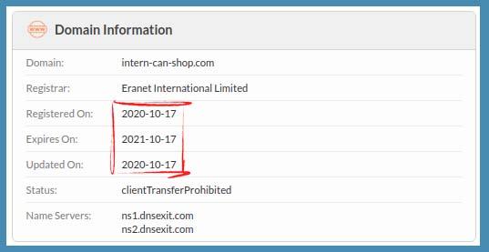 registered in 2020